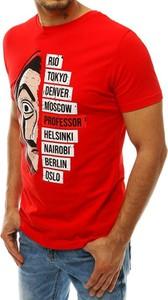 T-shirt Dstreet z bawełny