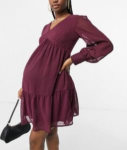 Sukienka Violet Romance Maternity z żakardu