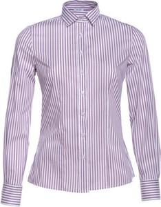 Fioletowa koszula Veva w stylu casual