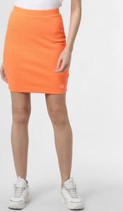 Spódnica Calvin Klein z dżerseju