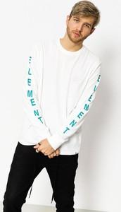 Koszulka z długim rękawem Element z bawełny w młodzieżowym stylu