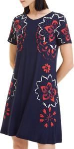 Niebieska sukienka Desigual