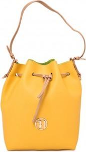c73a79ffa6b66 Żółte torebki i torby Trussardi