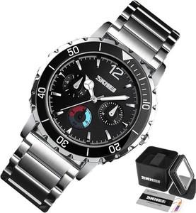 Zegarek męski SKMEI 1482 czarny WODOODPORNY