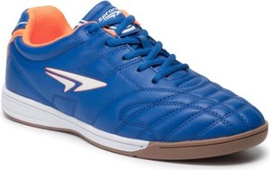 Niebieskie buty sportowe Sprandi sznurowane