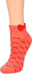 Czerwone skarpetki Maximo z bawełny