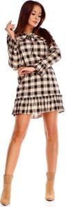 Sukienka N/A z długim rękawem mini