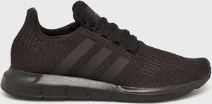 Brązowe buty sportowe Adidas Originals sznurowane