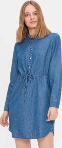 Sukienka House w stylu casual koszulowa z jeansu