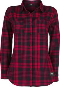 Czerwona koszula Emp w stylu casual