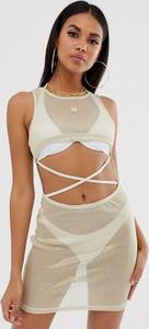 Sukienka Asos Design z dżerseju