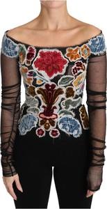 Bluzka Dolce & Gabbana z długim rękawem