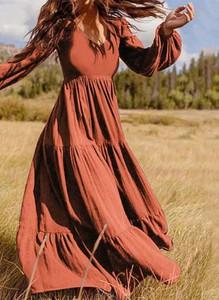 Czerwona sukienka Arilook maxi