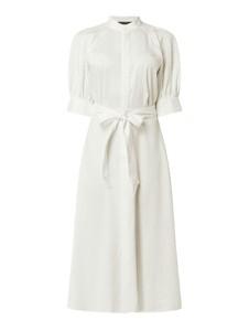 Sukienka POLO RALPH LAUREN z długim rękawem midi