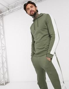 Zielony dres Asos w młodzieżowym stylu z dresówki