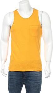Żółty t-shirt PRODUKT by Jack & Jones w stylu casual