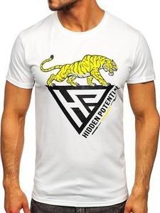 T-shirt Denley z krótkim rękawem w młodzieżowym stylu
