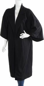 Czarny płaszcz Muse w stylu casual
