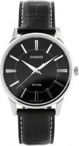 ZEGAREK MĘSKI CASIO MTP-1303L-1AVDF Czarny   Srebrny