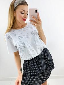 T-shirt Novvi.pl z okrągłym dekoltem