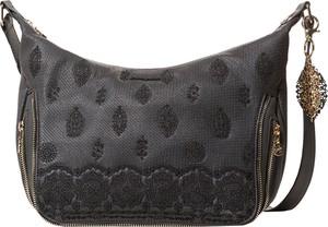 Czarna torebka Desigual w stylu casual na ramię