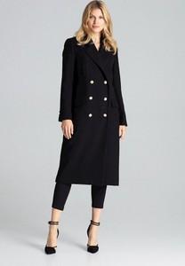 Czarny płaszcz Figl