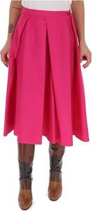 Różowa spódnica Marni