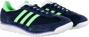 Buty sportowe Adidas z płaską podeszwą ze skóry