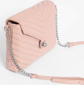 fc9f880b10f13 Różowa torebka ORSAY ze skóry ekologicznej na ramię mała