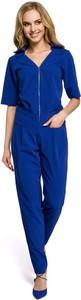 Niebieski kombinezon MOE z długimi nogawkami