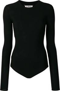 Czarna bluzka Maison Margiela