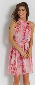 Sukienka Ivon mini z szyfonu