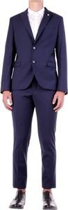 Niebieski garnitur Manuel Ritz