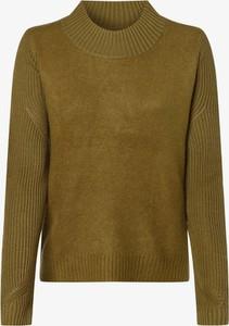 Brązowy sweter Opus w stylu casual