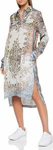 Sukienka amazon.de koszulowa w stylu casual midi