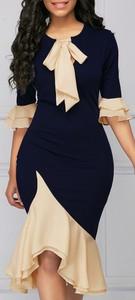 Czarna sukienka Elegrina