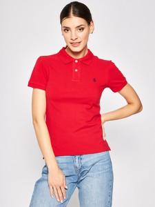 Bluzka POLO RALPH LAUREN z krótkim rękawem w stylu casual