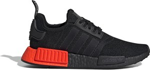 Buty sportowe Adidas z płaską podeszwą sznurowane nmd