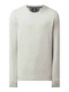 Sweter Lerros z okrągłym dekoltem w stylu casual