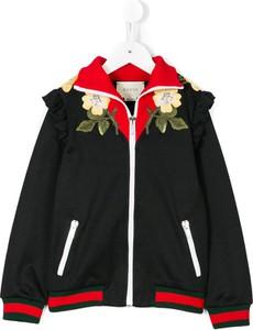 bc811a563ac18 Czarne kurtki i płaszcze dziecięce Gucci, kolekcja jesień 2018