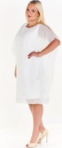f2a6f12a37 zwiewna asymetryczna sukienka - stylowo i modnie z Allani