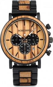 Zegarek drewniany BOBO BIRD P09 na bransolecie