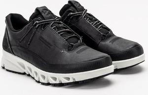 Czarne buty sportowe Ecco