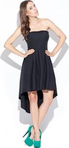 Czarna sukienka Katrus bez rękawów midi