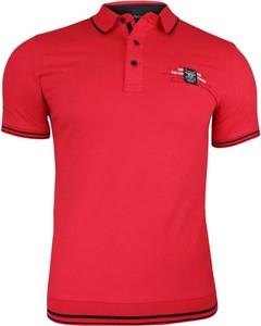 Koszulka polo Adriano Guinari z nadrukiem w stylu casual z tkaniny