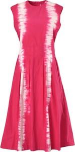 Czerwona sukienka MSGM