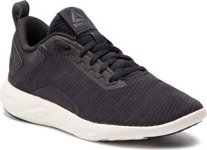 Buty sportowe Reebok ze skóry ekologicznej sznurowane na koturnie