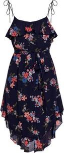 Niebieska sukienka Michael Kors na ramiączkach mini