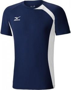 Niebieski t-shirt Mizuno