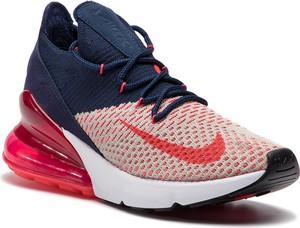 ed4391402dd8 Buty sportowe Nike w geometryczne wzory w sportowym stylu na koturnie